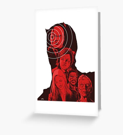 Daredevil Montage Greeting Card