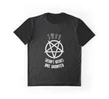 ♥♥♥ TEEN GOTH SERIES - SWAG SATAN'S WISHES ARE GRANTED ♥♥♥ Graphic T-Shirt