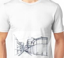 Valencia old town streets Unisex T-Shirt