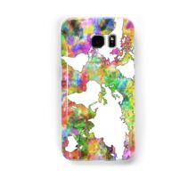 World Map watercolor 6 Samsung Galaxy Case/Skin