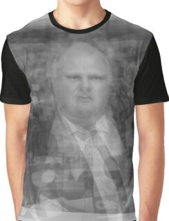 Rob Ford Portrait Graphic T-Shirt