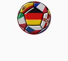Soccer ball with flag of Germany in the center Unisex T-Shirt