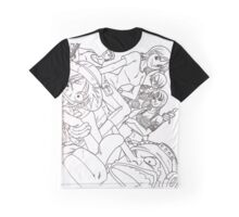 one piece line art  Graphic T-Shirt