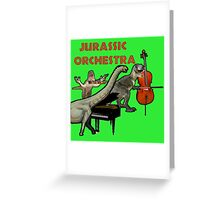 Jurassic Park's Orchestra Greeting Card