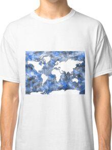 world map watercolor 7 Classic T-Shirt