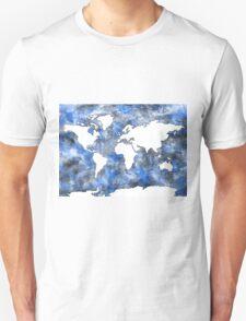 world map watercolor 7 T-Shirt