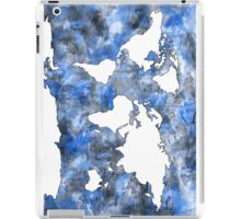 world map watercolor 7 iPad Case/Skin