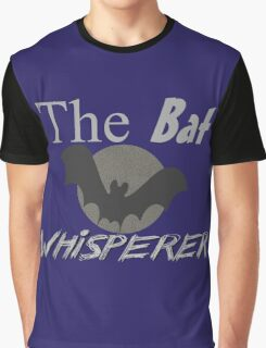 The Bat Whisperer Graphic T-Shirt