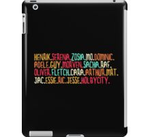 Holby City Characters [2] iPad Case/Skin