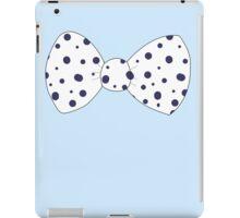 Blue Bow iPad Case/Skin
