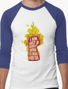 Hero for fun Men's Baseball ¾ T-Shirt