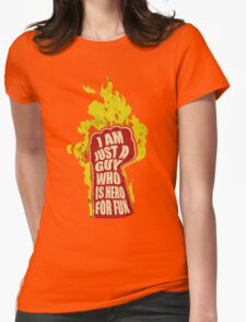 Hero for fun Womens Fitted T-Shirt