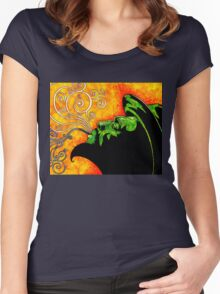 Thelonious Women's Fitted Scoop T-Shirt