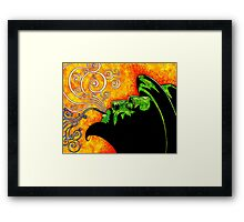 Thelonious Framed Print