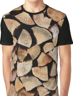 The Log Pile Graphic T-Shirt