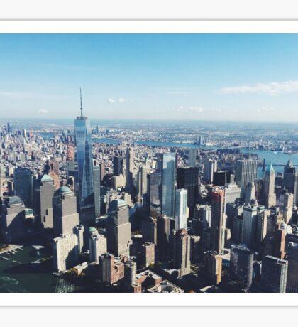 New York City, NY Sticker