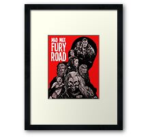 Mad Max Fury Road with Logo Framed Print