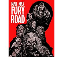 Mad Max Fury Road with Logo Photographic Print