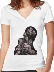 Mad Max Fury Road with Logo Women's Fitted V-Neck T-Shirt