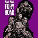 Mad Max Fury Road with Logo by jomiha