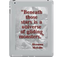 Beneath Those Stars Is A Universe - Melville iPad Case/Skin