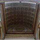 Sant Andrea Basilica Entrance Ceiling. Mantua, Italy by Igor Pozdnyakov