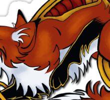 Celtic Fox Sticker