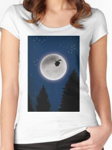 Beyond the sky Women's Fitted Scoop T-Shirt
