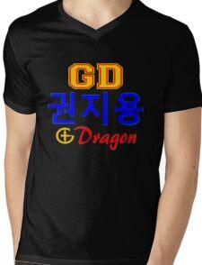♥♫Big Bang G-Dragon Cool K-Pop GD Clothes & Stickers♪♥ Mens V-Neck T-Shirt