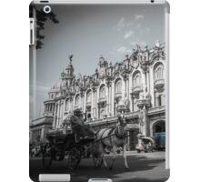 Havana Street Scene, Cuba. iPad Case/Skin