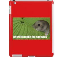 lolz Allergic Hamster iPad Case/Skin