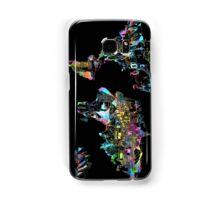 world map collage 5 Samsung Galaxy Case/Skin