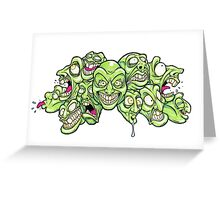 Sour Grapes Greeting Card