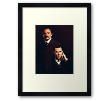 Mr Holmes and Dr Watson Framed Print