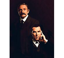 Mr Holmes and Dr Watson Photographic Print