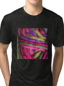 Knit Texture 02 Tri-blend T-Shirt