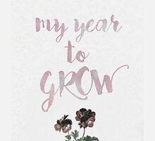 my year to grow ♥ by Li J Cheung
