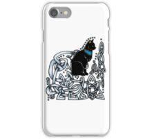Celtic/Egyptian Cat iPhone Case/Skin