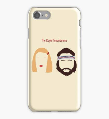 The Royal Tenenbaums, Margot, & Richie iPhone Case/Skin