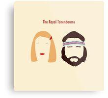 The Royal Tenenbaums, Margot, & Richie Metal Print