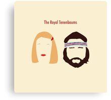 The Royal Tenenbaums, Margot, & Richie Canvas Print