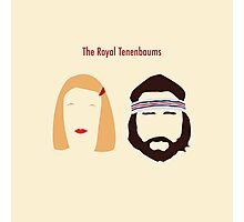 The Royal Tenenbaums, Margot, & Richie Photographic Print