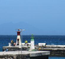 Lighthouse in Kalk Bay, Western Cape Sticker