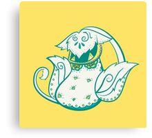 Victreebell Pokemuerto | Pokemon & Day of The Dead Mashup Canvas Print