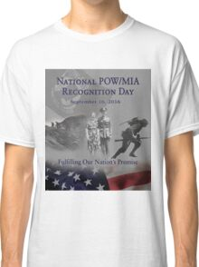 2016 POW Remembrance Day Official Poster Classic T-Shirt