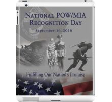 2016 POW Remembrance Day Official Poster iPad Case/Skin
