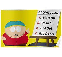 Cartman Bro Down Poster