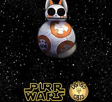Dana's world of Cats - Purr Wars, rookie droid by Kaizoku-hime