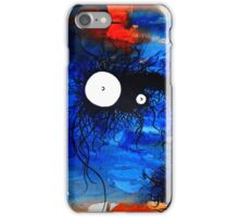 the creatures from the drain painting  13 iPhone Case/Skin