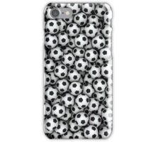 Soccer balls iPhone Case/Skin